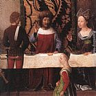 Hans Memling St John Altarpiece [detail 5, left wing] painting
